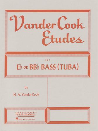 Vandercook Etudes for Bass/Tuba (B.C.)