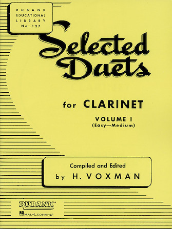 Product Cover for Selected Duets for Clarinet