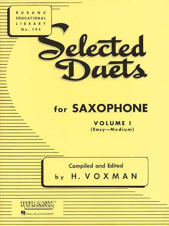 Product Cover for Selected Duets for Saxophone