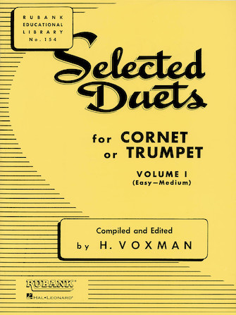 Product Cover for Selected Duets for Cornet or Trumpet