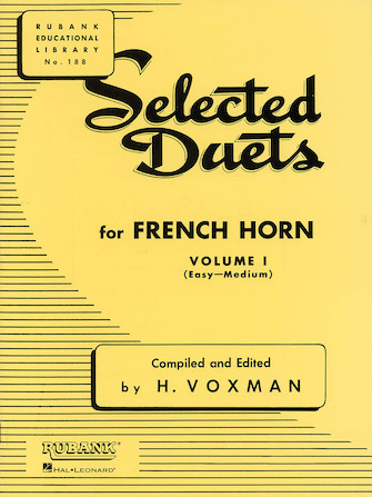 Product Cover for Selected Duets for French Horn