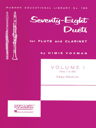 Product Cover for 78 Duets for Flute and Clarinet