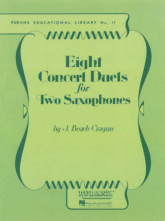 Product Cover for Eight Concert Duets for Two Saxophones