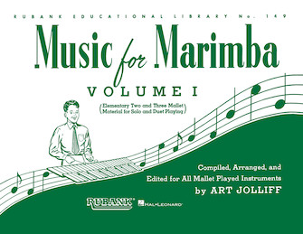 Product Cover for Music for Marimba – Volume I
