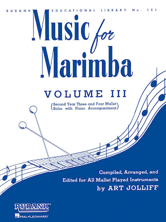 Product Cover for Music for Marimba – Volume III