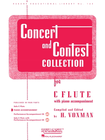 Product Cover for Concert and Contest Collection for C Flute