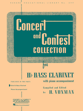 Product Cover for Concert and Contest Collection for Bb Bass Clarinet