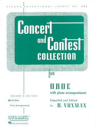 Concert and Contest Collection for Oboe