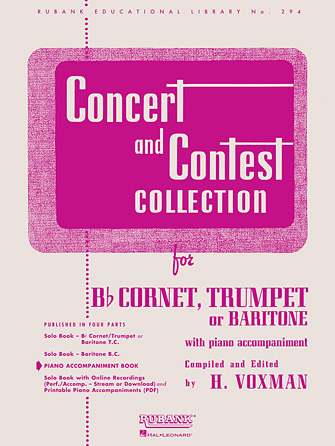 Product Cover for Concert and Contest Collection