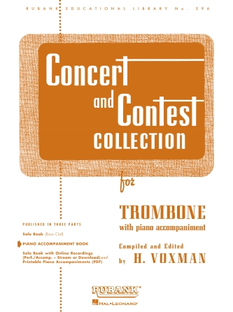 Product Cover for Concert and Contest Collection for Trombone
