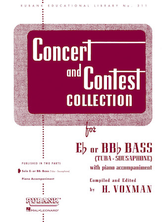 Product Cover for Concert and Contest Collection for Bass/Tuba (B.C.)