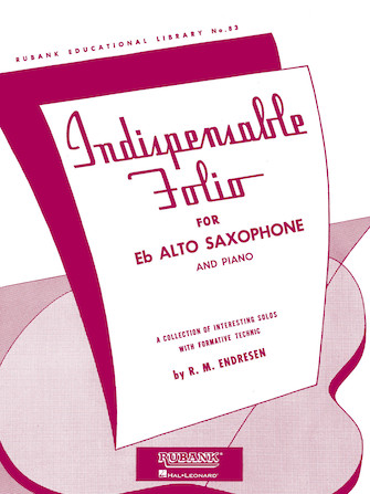 Product Cover for Indispensable Folio - Eb Alto Saxophone and Piano