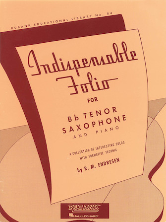 Product Cover for Indispensable Folio - Bb Tenor Saxophone and Piano