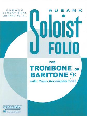Product Cover for Soloist Folio - Trombone/Baritone B.C. and Piano