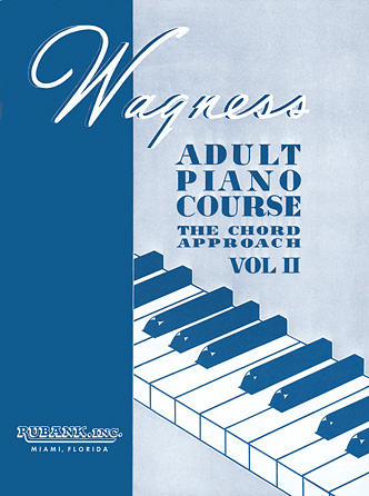 Product Cover for Wagness Adult Piano Course – The Chord Approach Volume II
