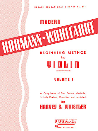 Product Cover for Modern Hohmann-Wohlfahrt Beginning Method for Violin