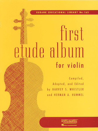 Product Cover for First Etude Album for Violin