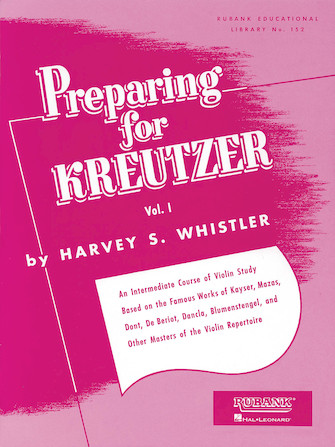 Product Cover for Preparing for Kreutzer