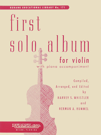Product Cover for First Solo Album for Violin