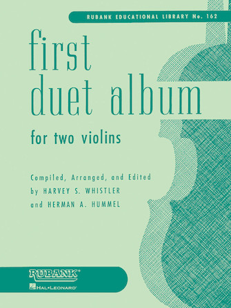 Product Cover for First Duet Album for Two Violins