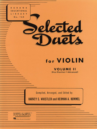 Product Cover for Selected Duets for Violin - Volume 2