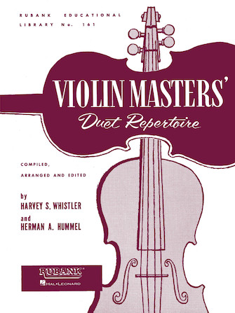 Product Cover for Violin Masters' Duet Repertoire