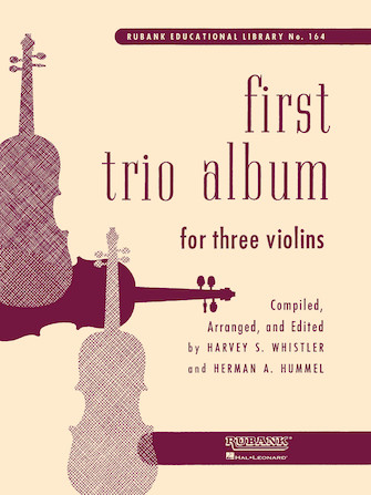 Product Cover for First Trio Album for Three Violins