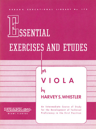 Product Cover for Essential Exercises and Etudes for Viola