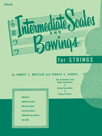 Product Cover for Intermediate Scales And Bowings - Violin First Position