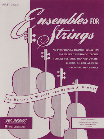 Product Cover for Ensembles For Strings - Viola