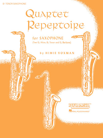 Product Cover for Quartet Repertoire for Saxophone - 1st Eb Alto