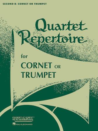Product Cover for Quartet Repertoire for Cornet or Trumpet