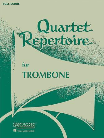 Product Cover for Quartet Repertoire for Trombone