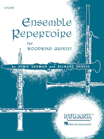 Product Cover for Ensemble Repertoire for Woodwind Quintet
