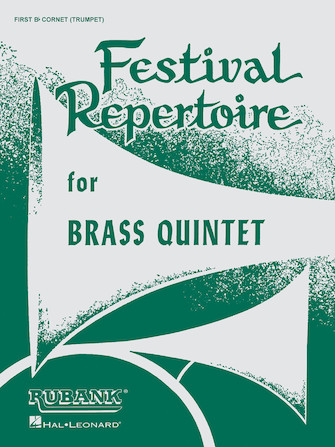 Product Cover for Festival Repertoire for Brass Quintet