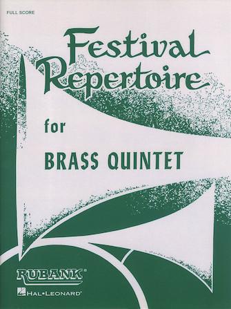 Product Cover for Festival Repertoire for Brass Quintet