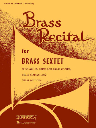 Product Cover for Brass Recital (for Brass Sextet)