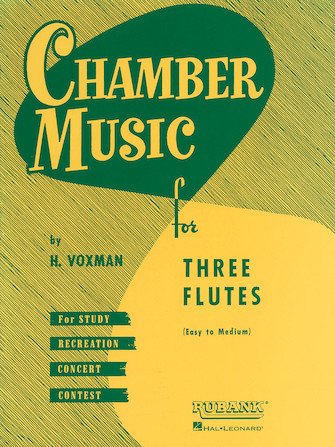Product Cover for Chamber Music for Three Flutes