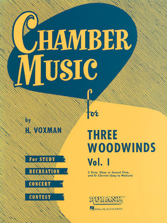 Product Cover for Chamber Music for Three Woodwinds, Vol. 1