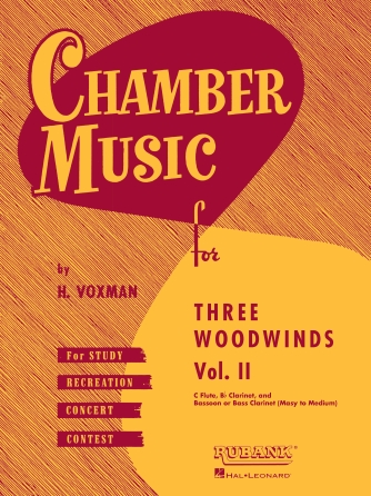 Product Cover for Chamber Music for Three Woodwinds, Vol. 2