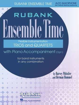 Product Cover for Ensemble Time - Alto Saxophone (Baritone Saxophone)