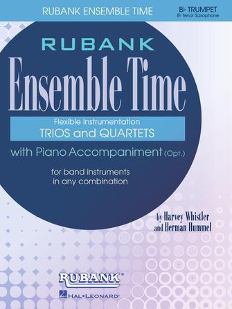 Product Cover for Ensemble Time - B Flat Cornets (Tenor Saxophone)