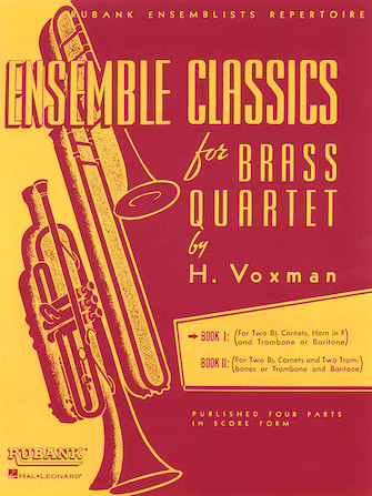 Product Cover for Ensemble Classics for Brass Quartet - Book 1