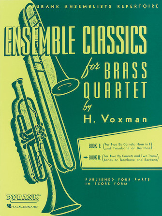 Product Cover for Ensemble Classics for Brass Quartet - Book 2