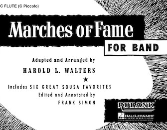 Product Cover for Marches of Fame for Band