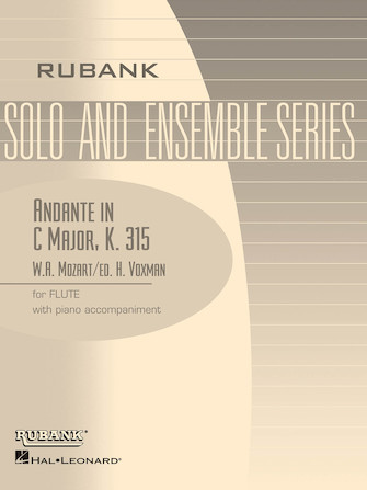 Product Cover for Andante in C Major, K. 315