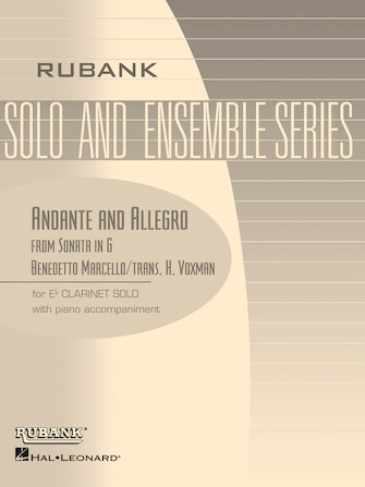 Product Cover for Andante and Allegro (from Sonata in G)