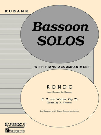 Product Cover for Rondo (from Concerto for Bassoon, Op. 75)