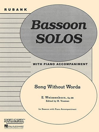Product Cover for Song Without Words, Op. 226