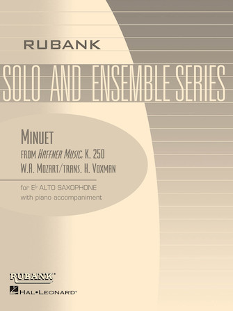 Product Cover for Minuet (from Haffner Music, K. 250)
